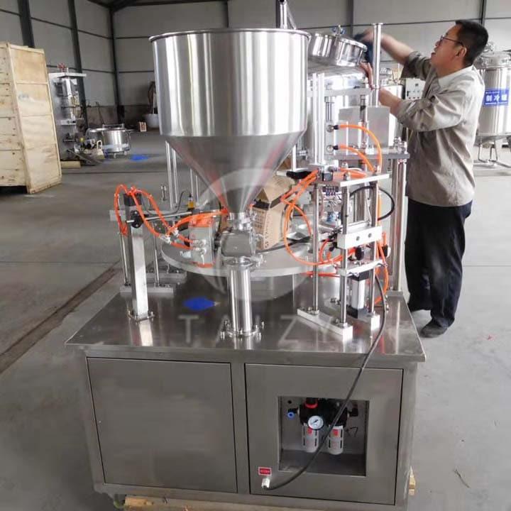 yogurt filling machine deliver to Nigeria