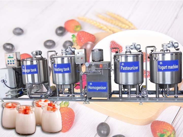 200~500L yogurt production line