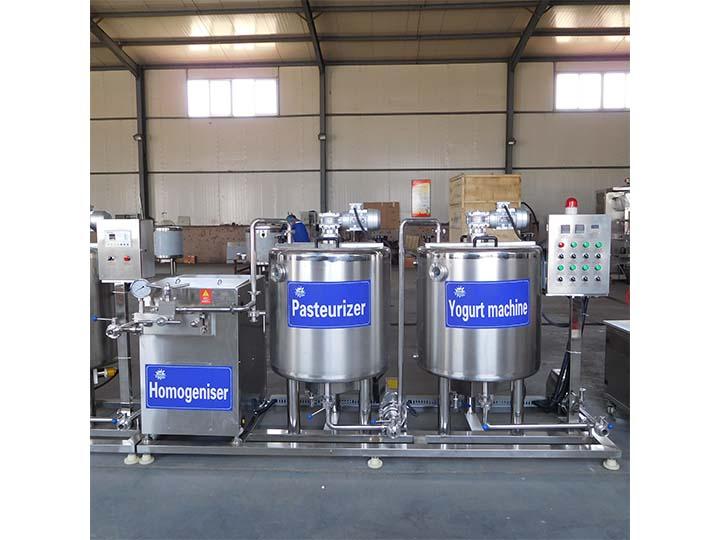 200L kenya yogurt production line