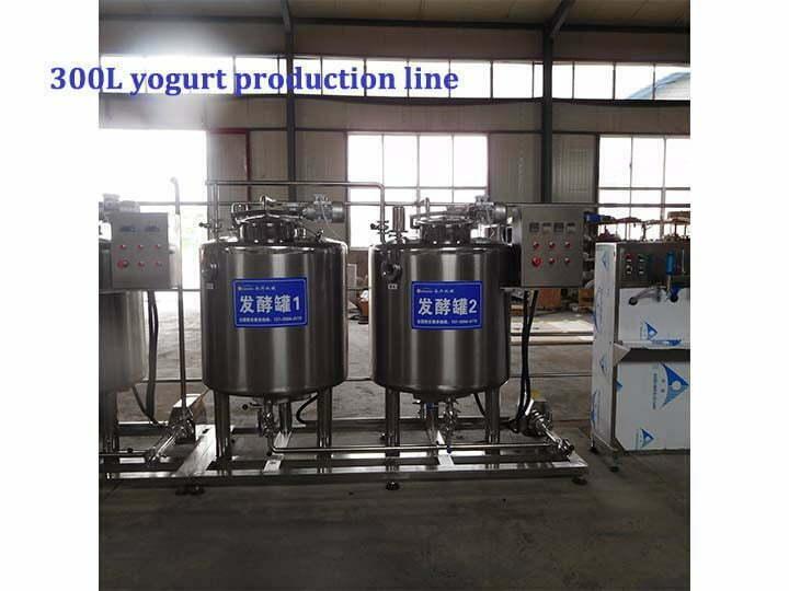 300L yogurt processing line