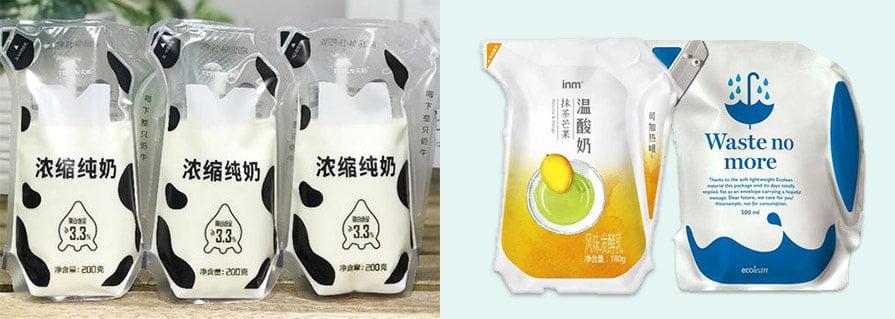 Ecolean yogurt Packaging