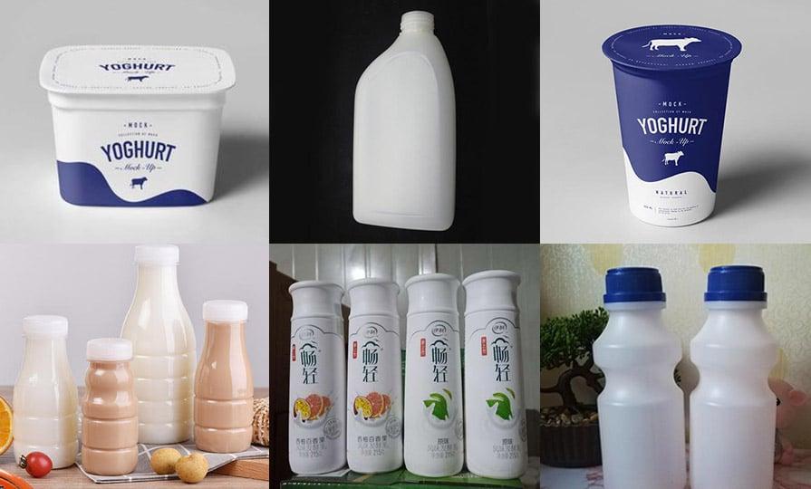 yogurt packaging with the Plastic Packaging material