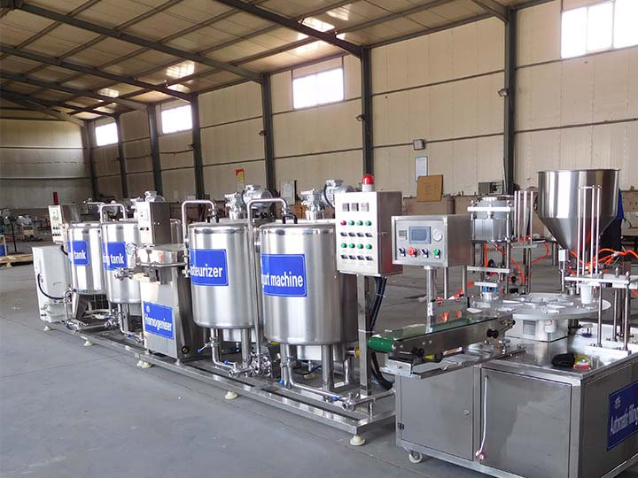 yogurt making machine exported to Kenya