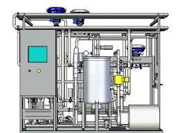 Schematic diagram of sterilization machine