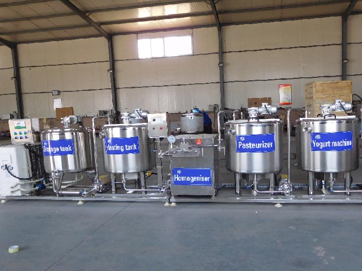 300ml Yogurt Production Line Shipped to Kenya